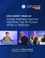 Global Wellness Summit Identifies Top 10 Future Shifts in Wellness