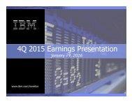 4Q 2015 Earnings Presentation
