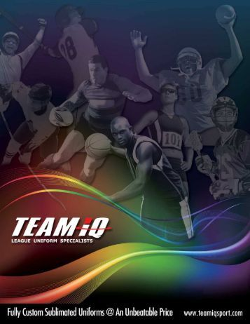 2015 Team iQ Catalog