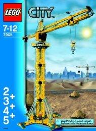 Lego Building Crane - 7905 (2006) - Crawler Crane BI, 7905 NA