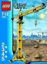 Lego Building Crane - 7905 (2006) - Crawler Crane BI, 7905 IN