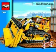 Lego Dozer - 7685 (2009) - Crawler Crane BI 3005/72+4 - 7685-V39