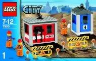 Lego Building Crane - 7905 (2006) - Crawler Crane BI, 7905