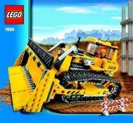 Lego Dozer - 7685 (2009) - Crawler Crane BI 3005/72+4 - 7685-V.29