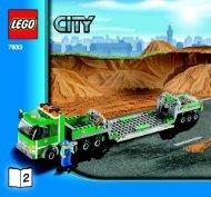 Lego Construction Site - 7633 (2008) - Crawler Crane BUILD INSTR 3005, 7633 2/4
