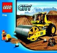 Lego Single-Drum Roller - 7746 (2009) - Crawler Crane BI 3005/48 - 7746 V. 29