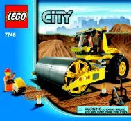 Lego Single-Drum Roller - 7746 (2009) - Crawler Crane BI 3005/48 - 7746 V. 39