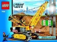 Lego Crawler Crane - 7632 (2009) - Crawler Crane BI 3006/80+4 - 7632-V.39