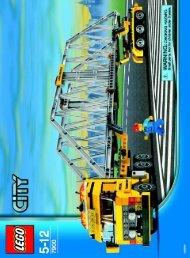 Lego Heavy Loader - 7900 (2006) - Crawler Crane BI  7900 NA