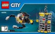 Lego Deep Sea Exploration Vessel - 60095 (2015) - Deep Sea Scuba Scooter BI 3004/20, 60095 V39 2/4