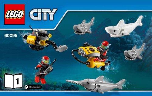Lego Deep Sea Exploration Vessel - 60095 (2015) - Deep Sea Scuba Scooter BI 3004/28 - 60095 V39 ...