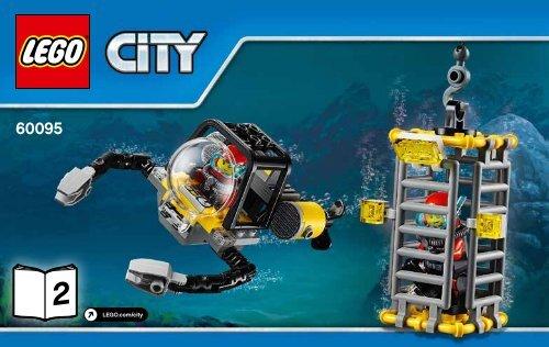 Lego Deep Sea Exploration Vessel - 60095 (2015) - Deep Sea Scuba Scooter BI 3004/20, ...