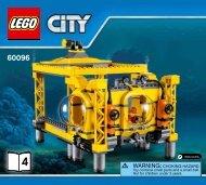 Lego Deep Sea Operation Base - 60096 (2015) - Deep Sea Scuba Scooter BI 3019/28-65G, 60096 V39 3/5
