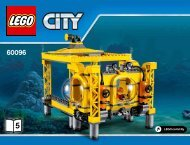 Lego Deep Sea Operation Base - 60096 (2015) - Deep Sea Scuba Scooter BI 3019/52-65G - 60096 V29 5/5