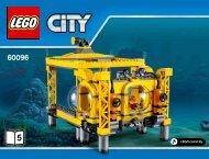 Lego Deep Sea Operation Base - 60096 (2015) - Deep Sea Scuba Scooter BI 3019/52-65G - 60096 V29 5/5