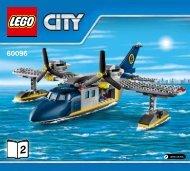 Lego Deep Sea Operation Base - 60096 (2015) - Deep Sea Scuba Scooter BI 3017/60-65G, 60096 V29 2/5