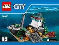 Lego Deep Sea Operation Base - 60096 (2015) - Deep Sea Scuba Scooter BI 3017/64+4,65/115G, 60096 4/5 V39