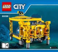 Lego Deep Sea Operation Base - 60096 (2015) - Deep Sea Scuba Scooter BI 3019/28-65G, 60096 V29 3/5