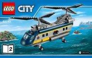 Lego Deep Sea Helicopter - 60093 (2015) - Deep Sea Scuba Scooter BI 3004/48, 60093 V29 2/3