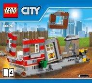 Lego Demolition Site - 60076 (2015) - Demolition Starter Set BI 3017/76+4,65/115G, 60076 4/4 V29