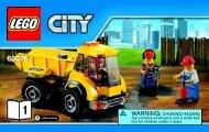 Lego Demolition Site - 60076 (2015) - Demolition Starter Set BI 3004/36-60076 V39 1/4