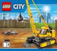 Lego Demolition Site - 60076 (2015) - Demolition Starter Set BI 3017/80+4-65/115G, 60076 V29 3/4