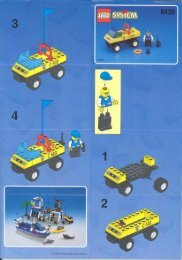 Lego COAST GUARD - 6435 (1999) - Tow-away Truck BUI.IN.6435 4WD COAST GUA. 4/7