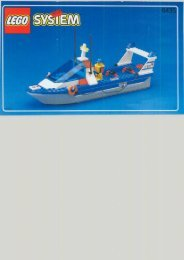 Lego COAST GUARD - 6435 (1999) - Tow-away Truck BUI.IN.6435 COAST GUARD BO 6/7