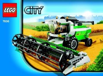 Lego Combine Harvester - 7636 (2009) - CITY Farm BI 3006/72+4 - 7636 - V.29