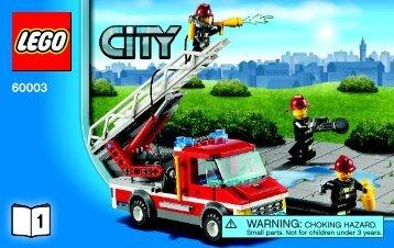 Lego LEGO City Super Pack - 66475 (2013) - CITY Value Pack BI 3004/64+4-65*, 60003 V39 1/2