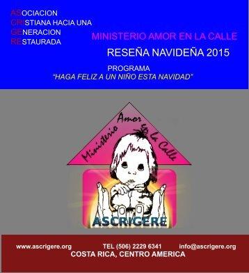 RESEÑA NAVIDEÑA 2015