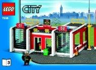 Lego CITY Fire - 66357 (2010) - CITY Value Pack BI 3006/64 - 7208 V.29 3/4