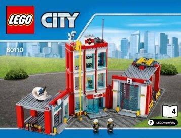 Lego Fire Station - 60110 (2016) - Fire Boat BI 3019/80+4/65+115 g, 60110 4/5 V29
