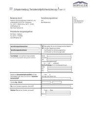 Schadenmeldung Tierhalterhaftpflichtversicherung Seite 1/3