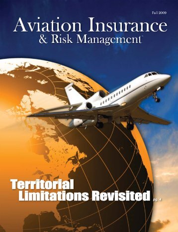 800.999.1109 - Aviation Insurance & Risk Management Magazine