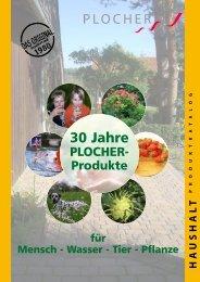 PLOCHER Haushalt-Katalog 2010 CH JUAG