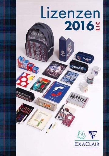 Clairefontaine Lizenzen 2016 de