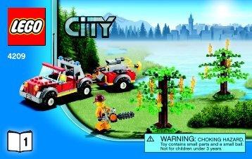 Lego Fire Plane - 4209 (2012) - 4x4 Fire Truck BI 3004 60/-4209 V39 1/2