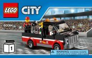 Lego Racing Bike Transporter - 60084 (2015) - Dune Buggy Trailer BI 3004 60, 60084 V39 1/2
