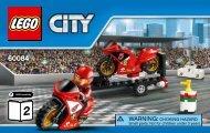 Lego Racing Bike Transporter - 60084 (2015) - Dune Buggy Trailer BI 3004/24, 60084 V39 2/2