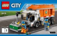 Lego Garbage Truck - 60118 (2015) - Dune Buggy Trailer BI 3004 60, 60118 1/2 V29