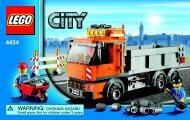 Lego Tipper Truck - 4434 (2012) - Ambulance BI 3004/60+4*- 4434 V. 39