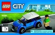 Lego Pickup Tow Truck - 60081 (2015) - Race Car BI 3004/20-60081 V39 1/2