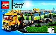 Lego Auto Transporter - 60060 (2013) - Race Car BI 3004/48 -60060 V29 2/3