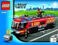 Lego Airport Fire Truck - 60061 (2013) - Race Car BI 3018/76+4-65+115G -60061 V29 1/2