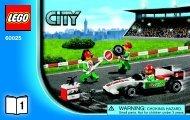 Lego Grand Prix Truck - 60025 (2013) - Ambulance BI 3004/28 - 60025 V39 1/3
