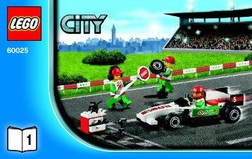 Lego Grand Prix Truck - 60025 (2013) - Ambulance BI 3004/28 - 60025 V29 1/3