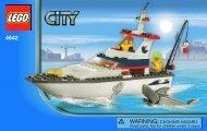 Lego Fishing Boat - 4642 (2011) - Maersk Sealand Container Ship BI 3004/36 - 4642 V. 39