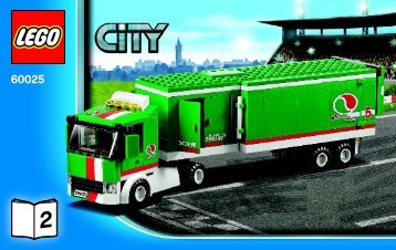 Lego Grand Prix Truck - 60025 (2013) - Ambulance BI 3004/32  - 60025 V29 2/3