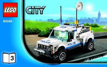 Lego Police Patrol - 60045 (2014) - Police Patrol BI 3004/64+4-65*- 60045 3/4 V29